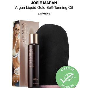 Josie Maran Tanning Oil w Mitt